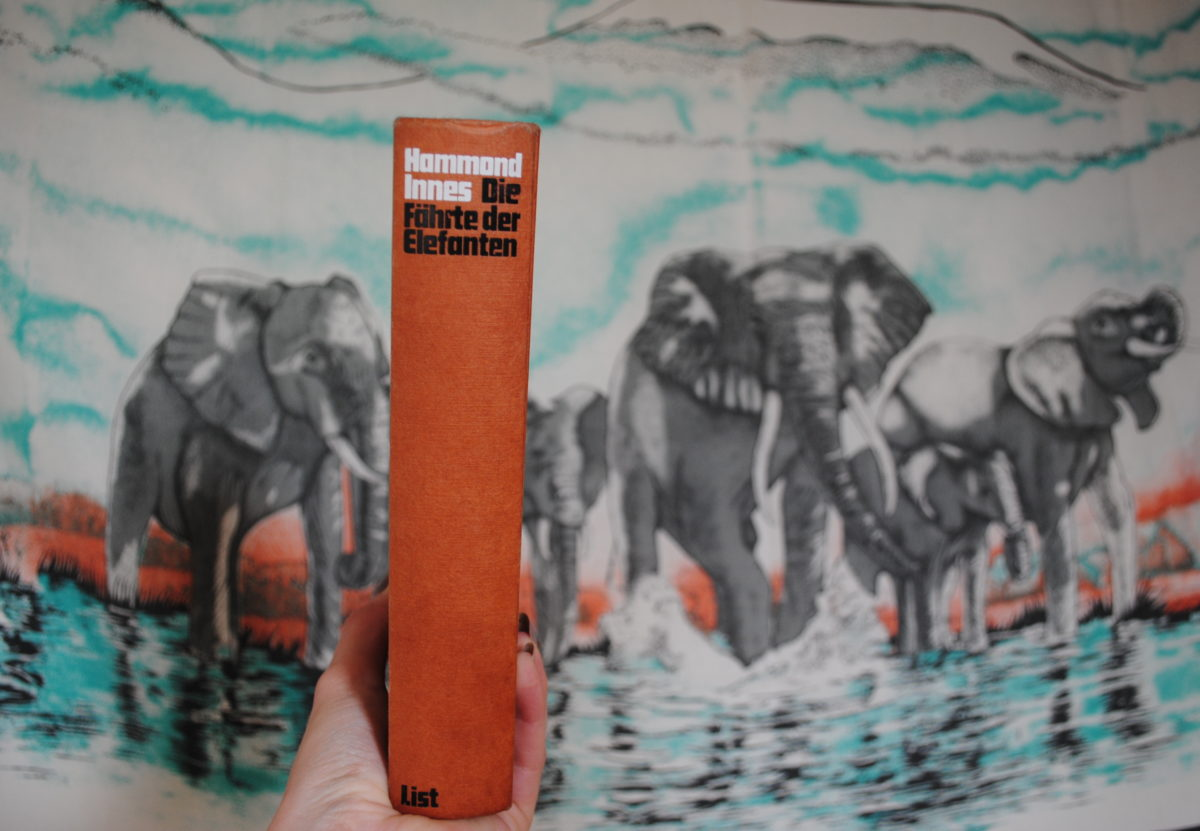 Hammond Innes - Die Fährte der Elefanten