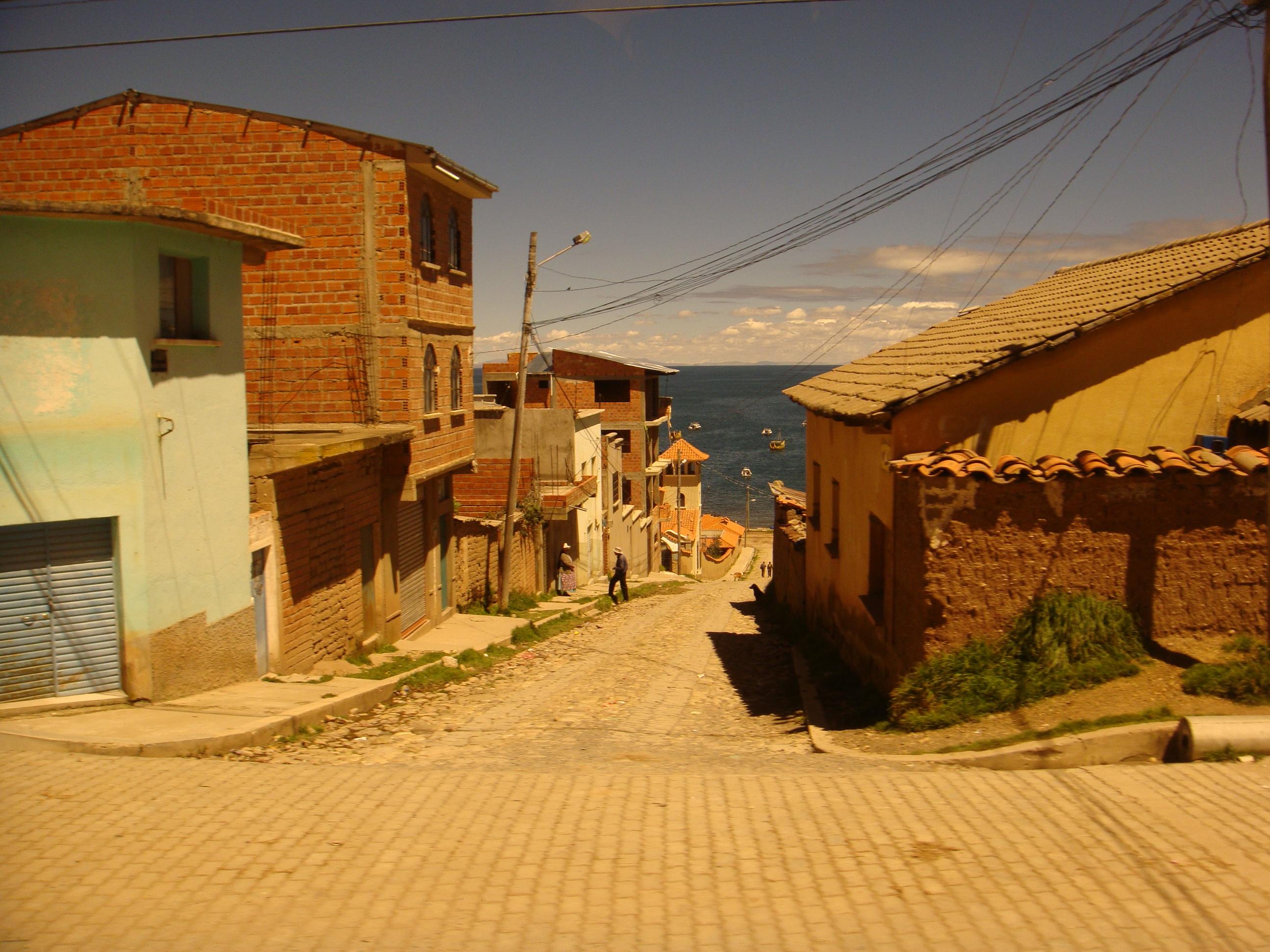 Südamerika Dorf