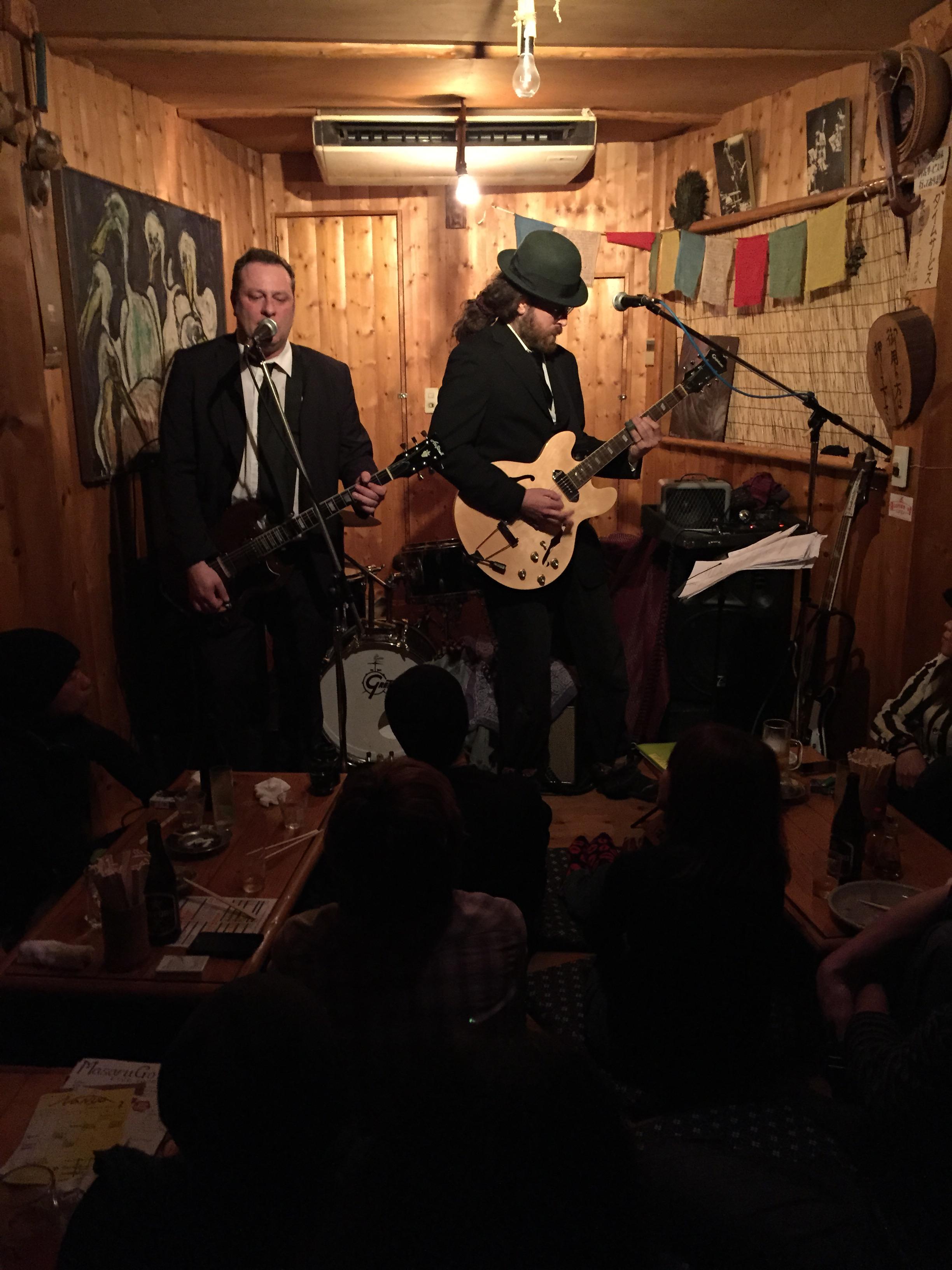 """Jens Seiler & und der Amerikaner Steve spielen die Musik von """"Bored & Beautiful"""""""