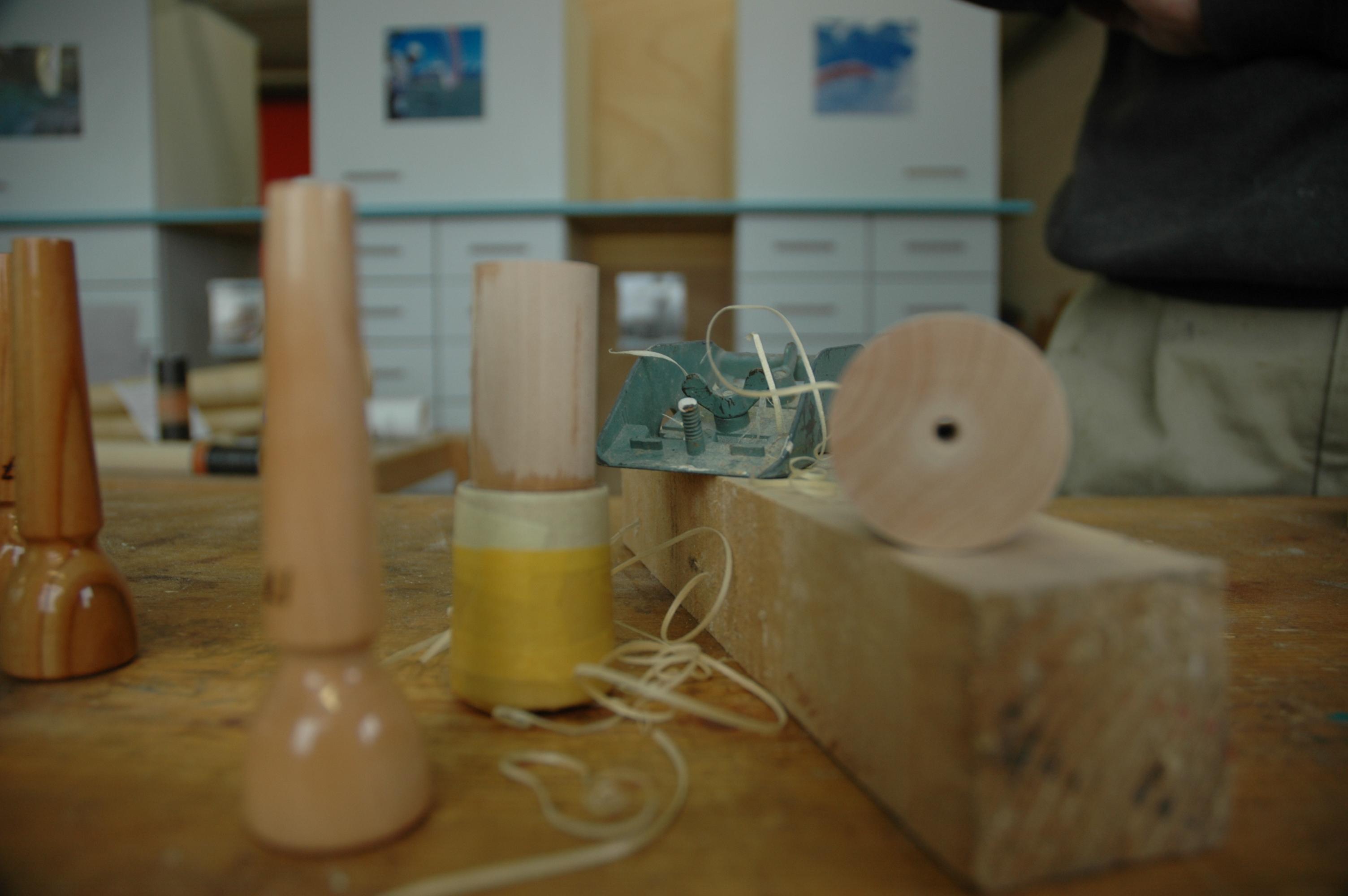 Mundstücke in der Werkstatt von Otto Emmenberger 2010